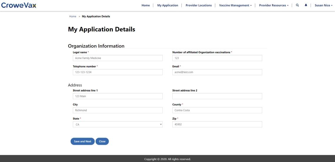 Provider registration and enrollment