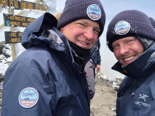 Kieran Bowes Trekking Mount Kilimanjaro
