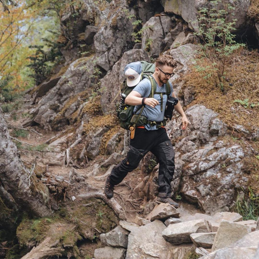 Devon Huber Hiking
