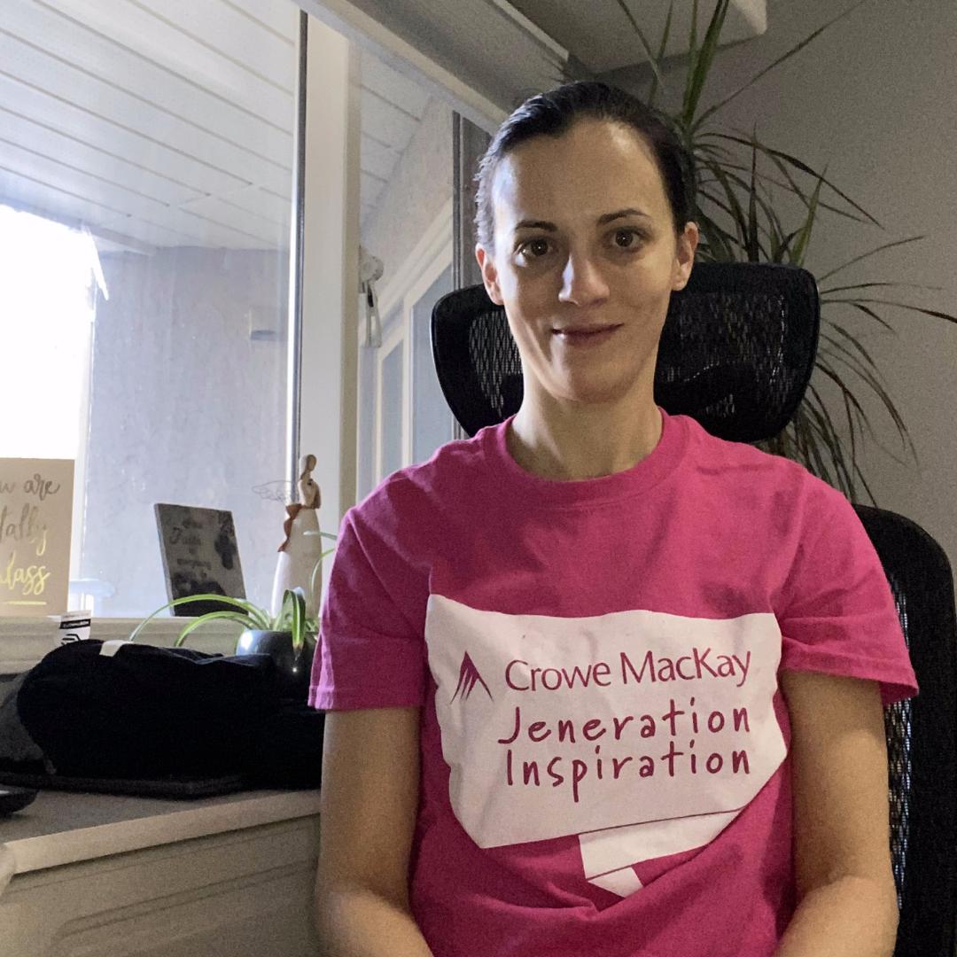 Jennifer Mendes Pink Shirt Day