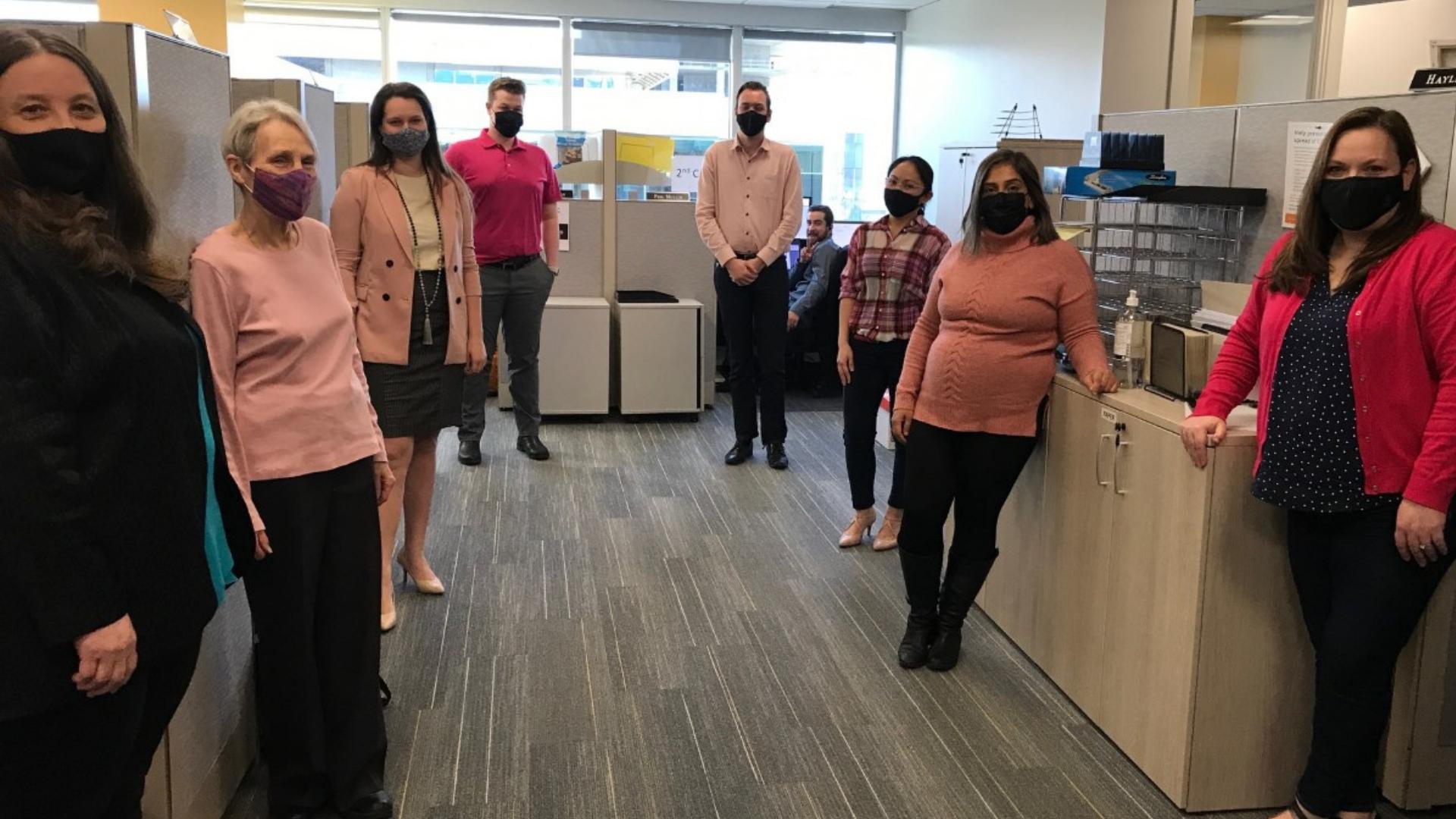 Kelowna Pink Shirt Day Office