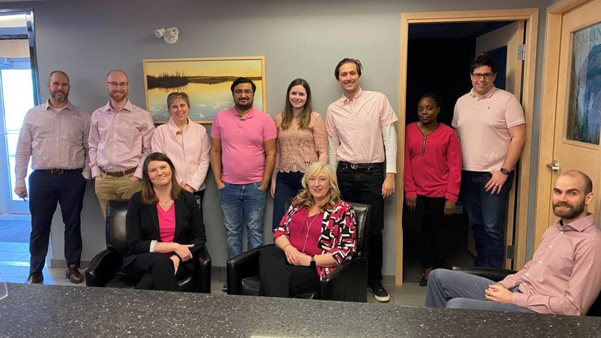 Yellowknife Pink Shirt Day