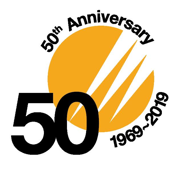 50 years Crowe Logo