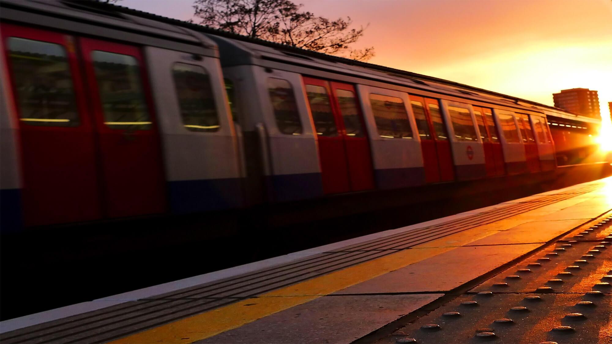 Railway and train