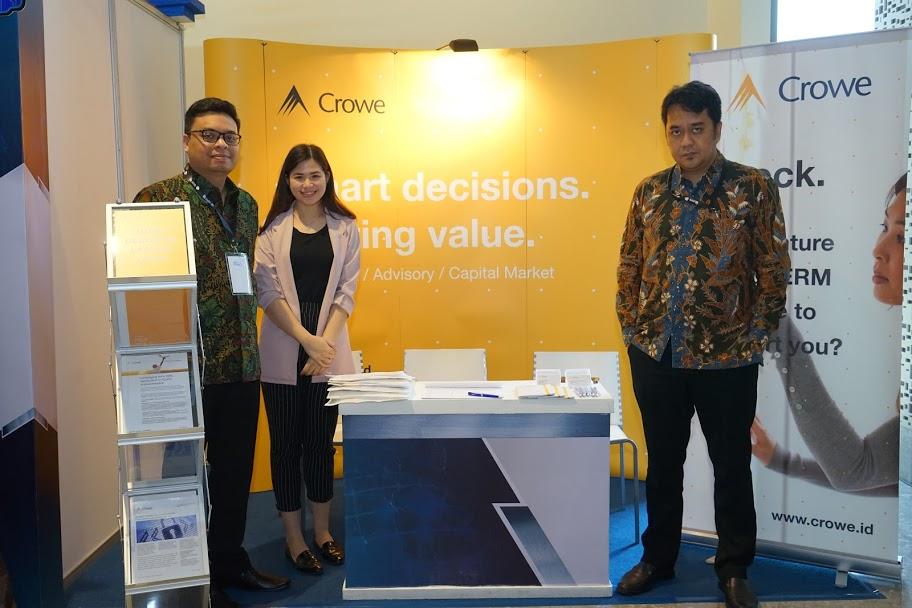 2019 IIA Indonesia National Conference - Crowe exhibition booth