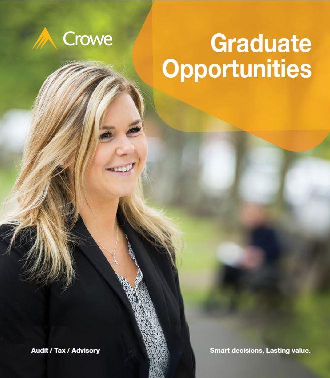 Crowe Ireland graduate brochure cover