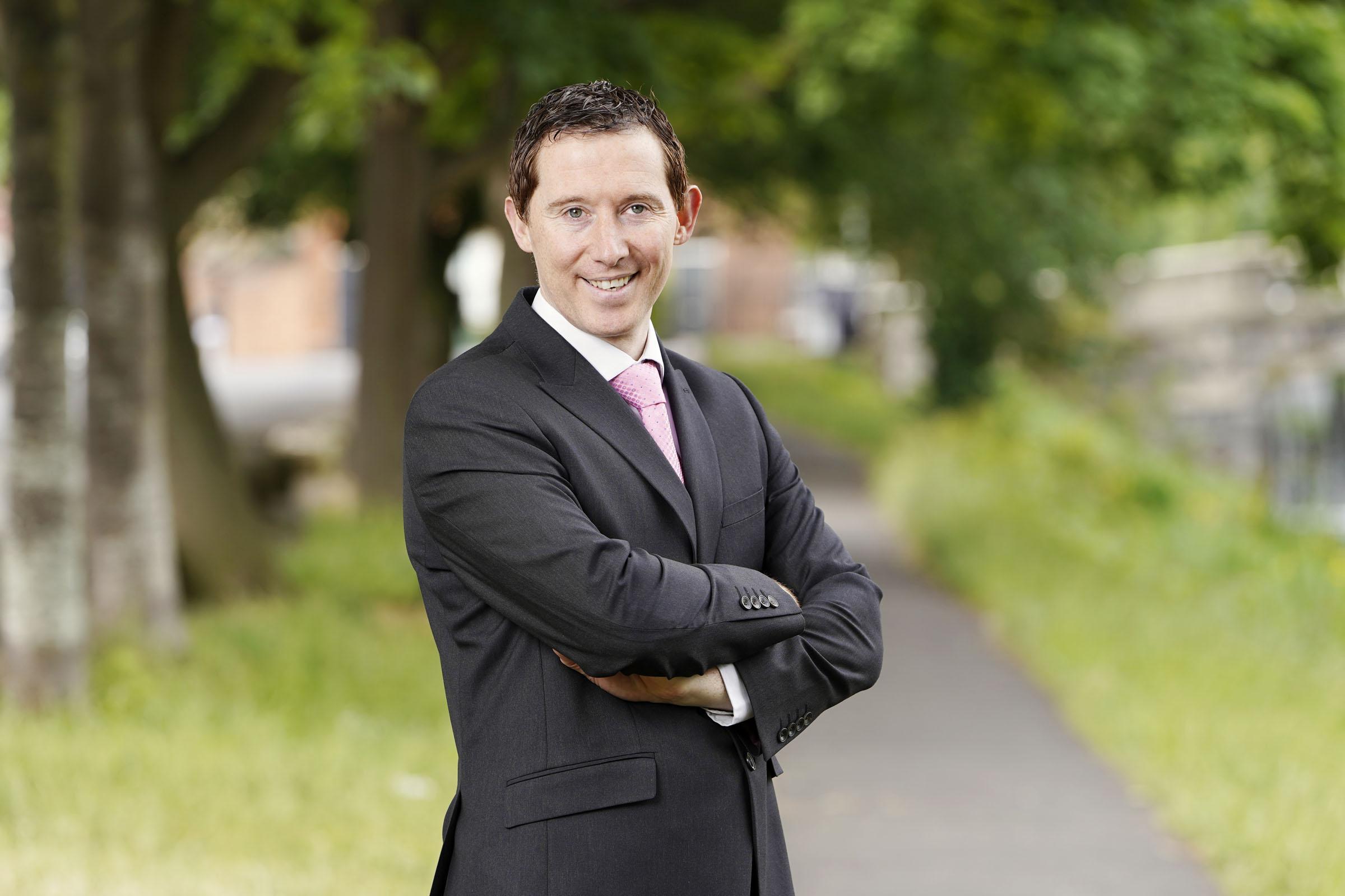 Cromac Doyle, tax partner, Crowe Ireland