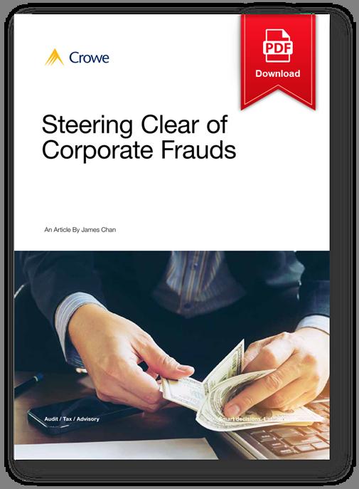 Steering Clear of Corporate Fraud