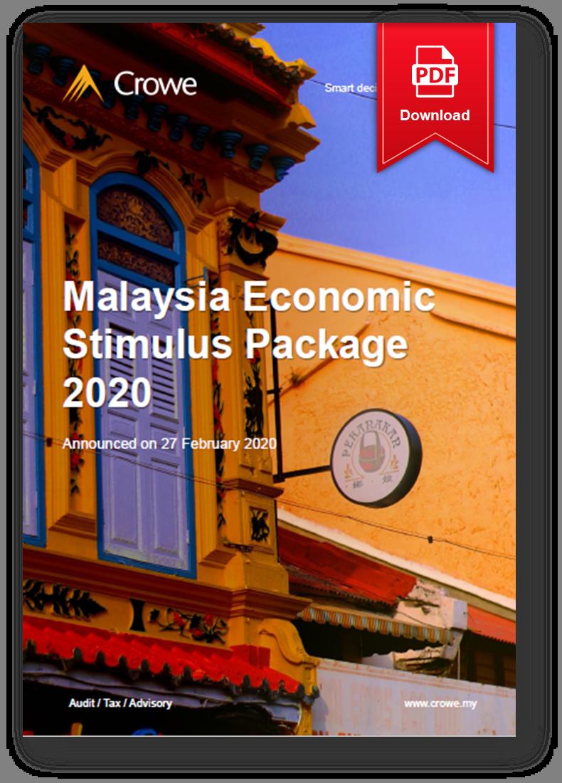 Malaysia Economic Stimulus Package 2020 by Crowe Malaysia