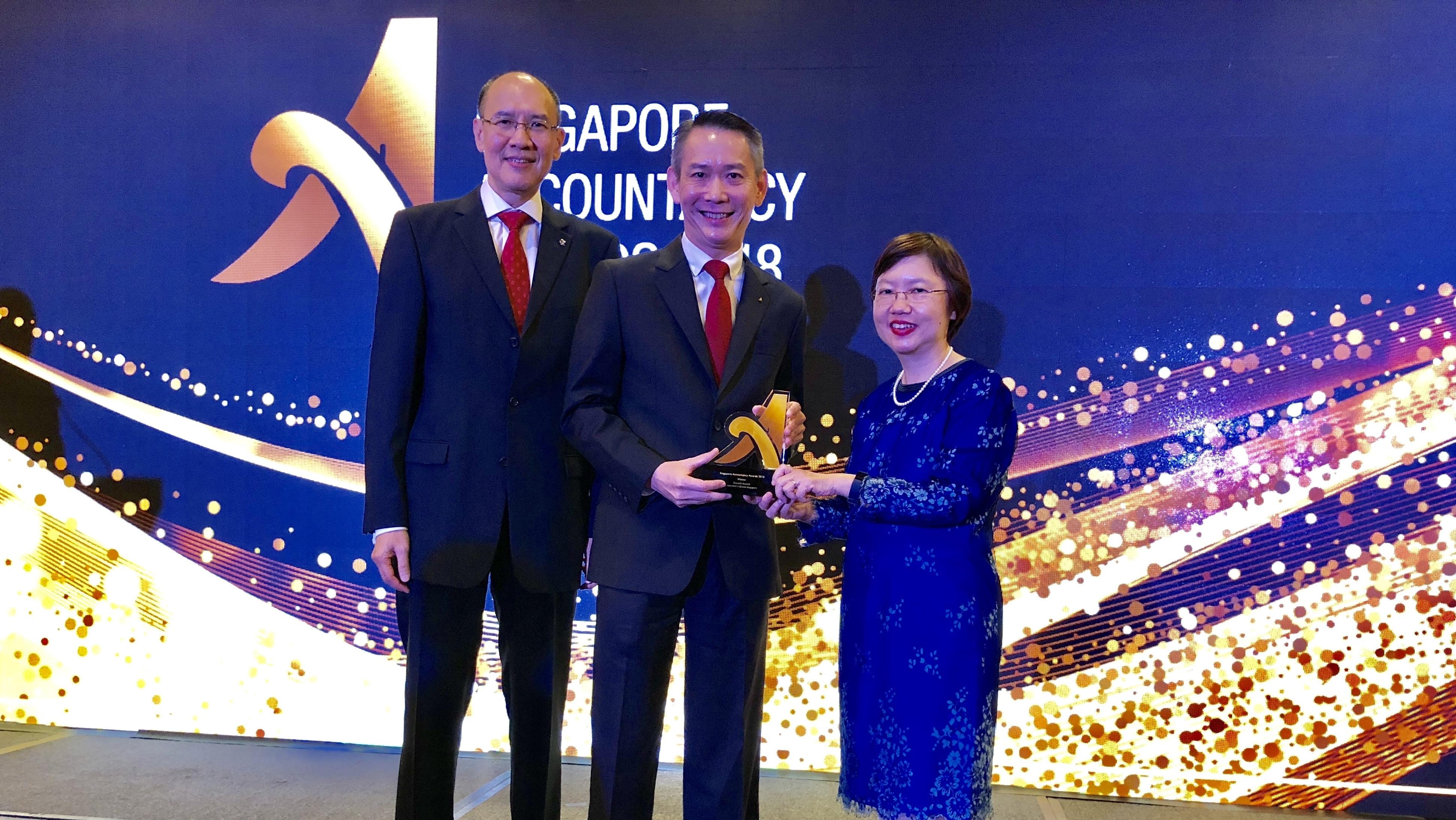 Crowe Singapore Wins ISCA Growth Award 2018 | Crowe Singapore