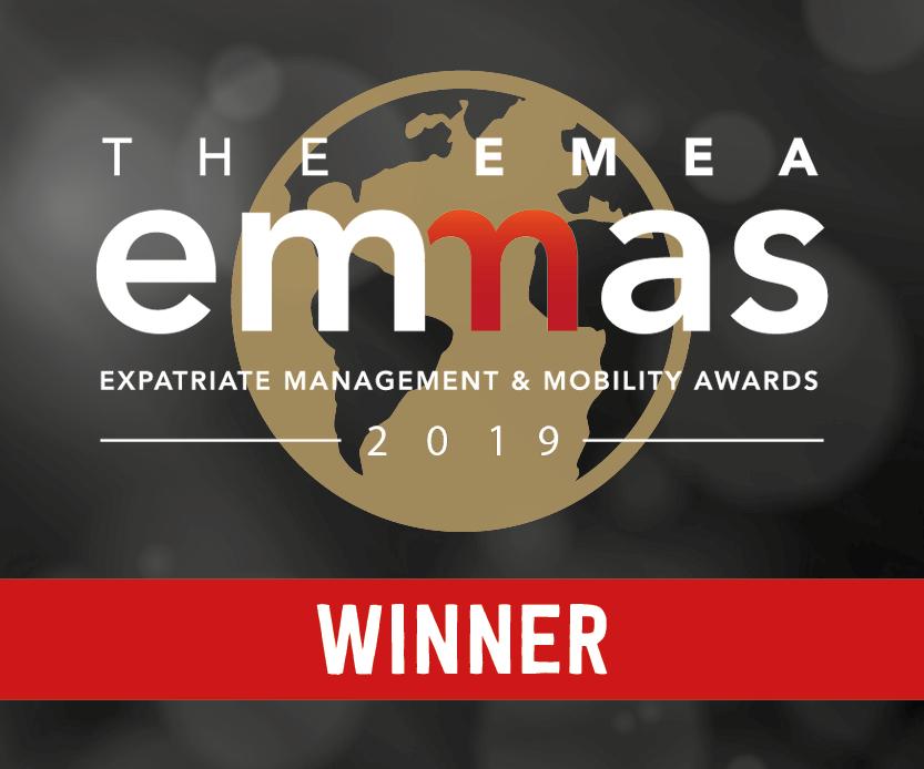 EMMA winner logo