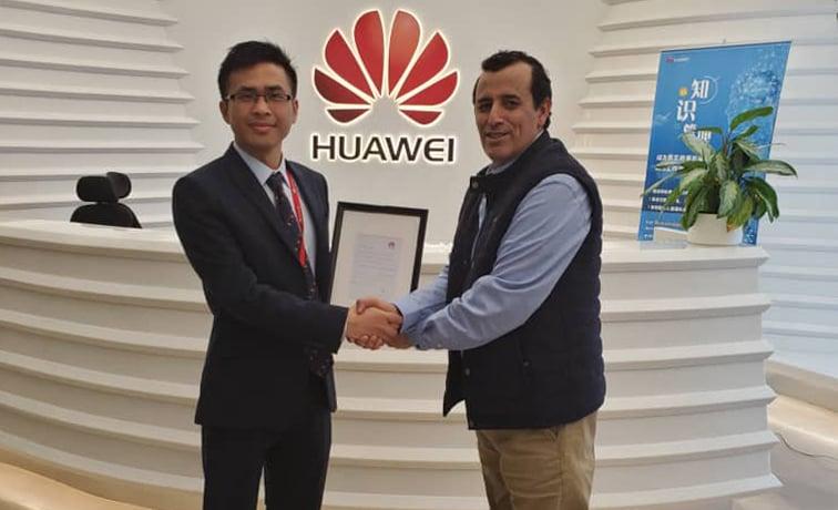 Award from Huawei